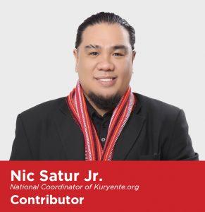 Nic Satur Jr. Kuryente.org
